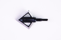 "Black Hornet 100 grain 2 blade broadhead 1 5/16 long "" X  1 1/4 wide"" (3-pack)"