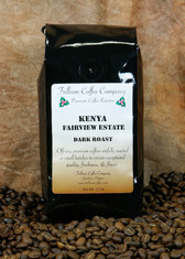 Kenyan Estate - These green coffee beans come from Africa.  The slightly higher acidity* makes this coffee unique.  Sharp fruity or citrus undertones distinguish this exceptional coffee.