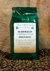 Guatemalan Certified Organic - Fair Trade- A well balanced medium to light body coffee with delicate smoky, spicy, and chocolate undertones and good acidity.