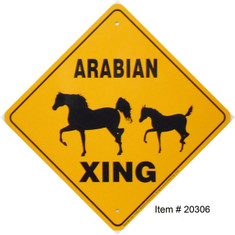 "Arabian Xing / 12""x12"" / Yellow & Blk"