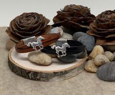 Giddy Up Pony Leather Bracelet