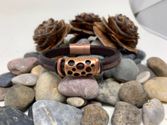 Homestake Pass Leather Bracelet