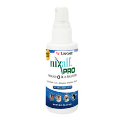 NIXALL®PRO VETRESPONSE® WOUND AND SKIN SOLUTION