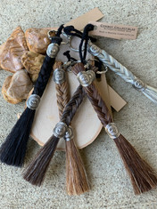 Horse Hair Key Chains