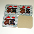 Happy Howlidays Coasters