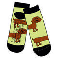Dachshund Slipper Socks