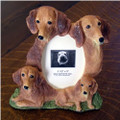Red Dachshund Picture Frame