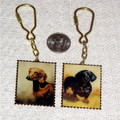 Dachshund Portrait Key Chains