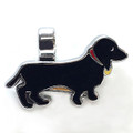 Black/tan Dachshund Charm