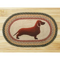 Dachshund Braided Rug