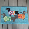 Dachshunds At The Beach Rug