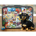 World Traveling Dachshund Puzzle