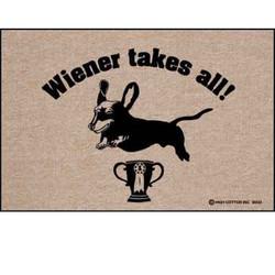 Wiener Takes All! Doormat
