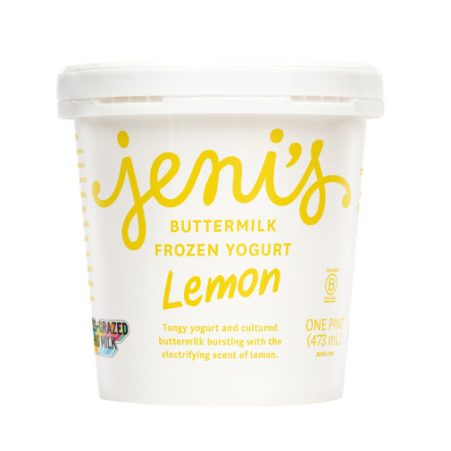 Jeni's Splendid Ice Creams - Lemon Buttermilk Frozen Yogurt