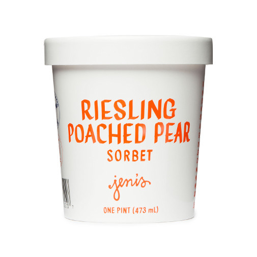 Riesling Poached Pear Sorbet - Jeni's Splendid Ice Creams