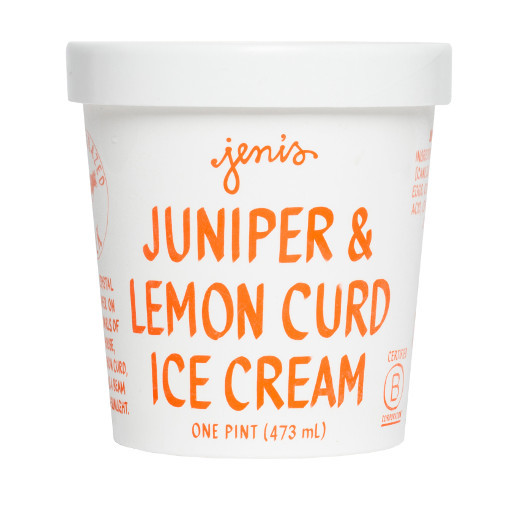 Juniper & Lemon Curd - Jeni's Splendid Ice Creams