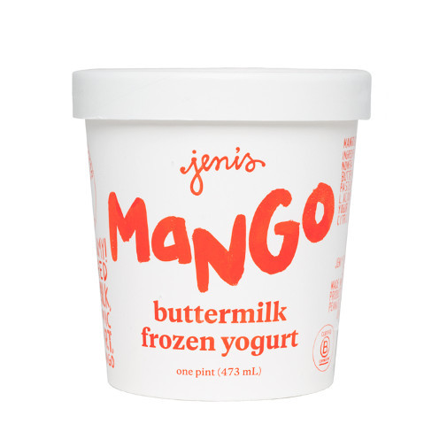 Mango Buttermilk Frozen Yogurt - Jeni's Splendid Ice Creams