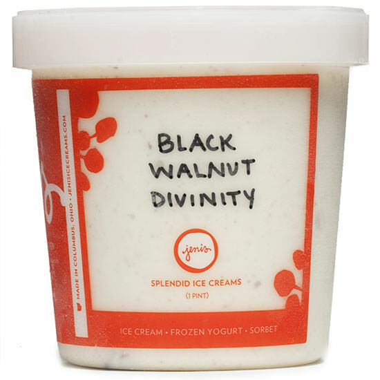 Black Walnut Divinity - Jeni's Splendid Ice Creams