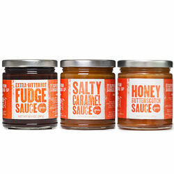 Saucy Collection (3-pack) - Jeni's Splendid Ice Creams