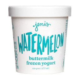 Watermelon Buttermilk Frozen Yogurt - Jeni's Splendid Ice Creams