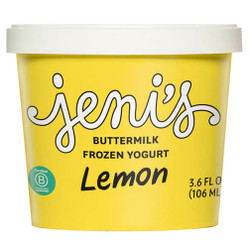 Lemon Buttermilk Frozen Yogurt Street Treats (12-pack) - Jeni's Splendid Ice Creams