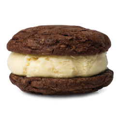 Chocolate Truffle with Savannah Buttermint Ice Cream Sandwich 4-Pack