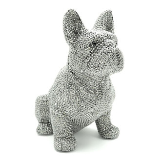 Crystal French Bulldog Bank