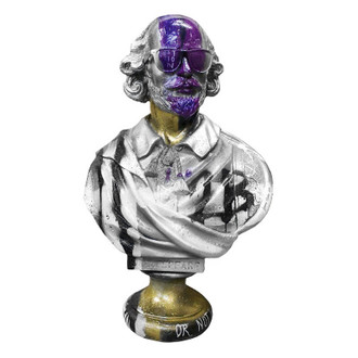 "Shakespeare Bust, ""2B Or Not 2B"""