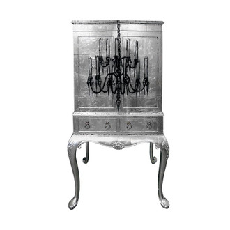 Cocktail Cabinet, Chandelier