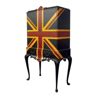 Cocktail Cabinet, Union Jack