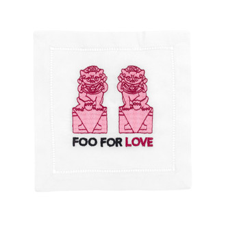 Cocktail Napkins 'Foo For Love'