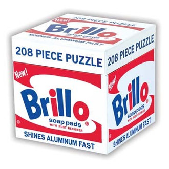 Andy Warhol Brillo Box Puzzle