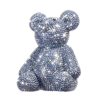 Crystal Teddy Bear Bank