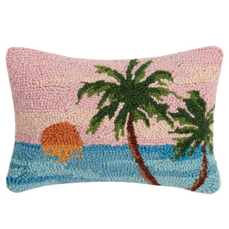Beach Scene Hook Pillow