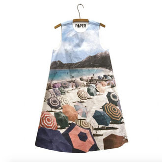 Paper Dress By the Sea