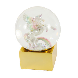 Snow Globe Magical Pegasus