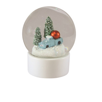 Snow Globe Holiday Truck