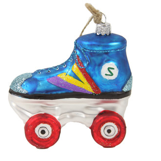 Holiday Ornament Roller Skate