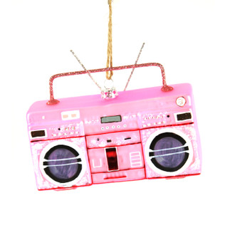 Holiday Ornament Boombox