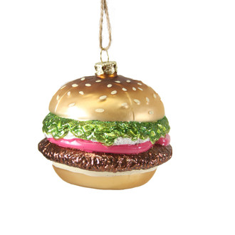 Holiday Ornament Hamburger