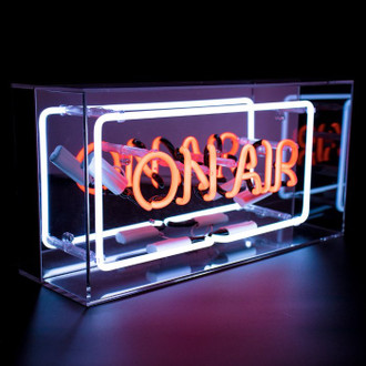 Neon Light Box On Air