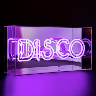 Neon Light Box Disco