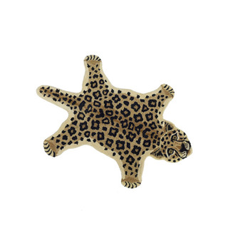 Animal Print Accent Rug - Leopard, Small
