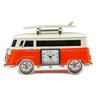 Mini Camper Clock with Surfboards