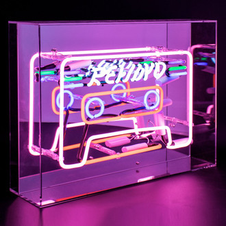 Neon Light Box Cassette