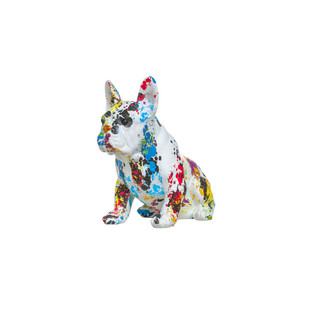 French Bulldog Bank Paint Splashed