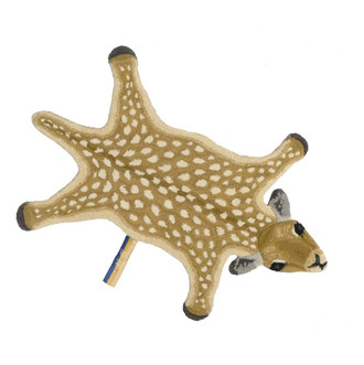 Animal Print Accent Rug - Dolly Bambi Small