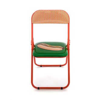 Folding Chair Hot Dog
