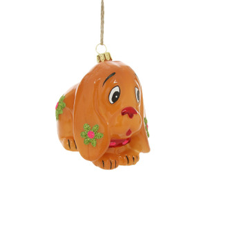 Holiday Ornament Retro Dog