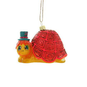 Holiday Ornament Retro Turtle